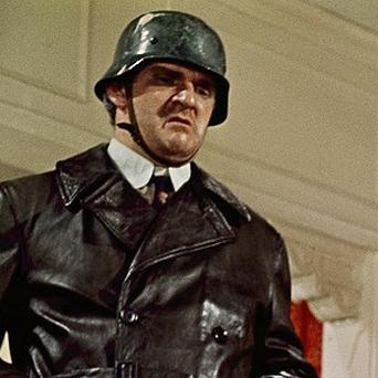 Kenneth Mars portrays a Hitler-worshipping playwright in a scene from The Producers (AP)