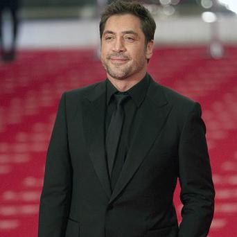 Javier Bardem could be flexing his vocal cords on screen
