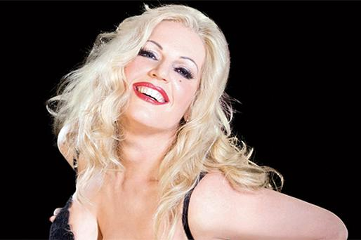 Dutch soprano Eva-Maria Westbroek is seen as Anna Nicole