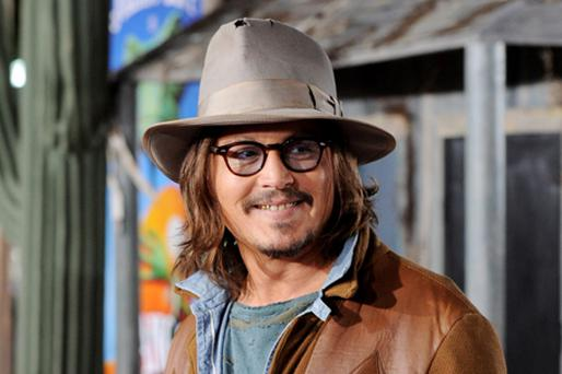 Johnny Depp has been invited to a high-profile comedy film festival in Kerry. Photo: Getty Images