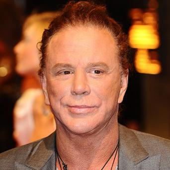 Mickey Rourke is said to be working with Lenny Kravitz on a new film