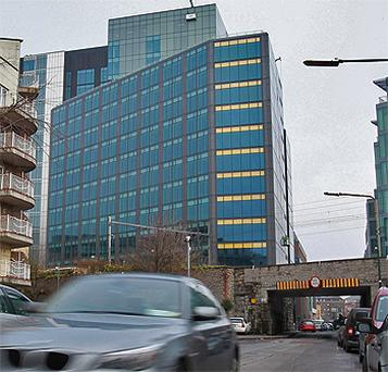 The 15-storey Montevetro development in Dublin. Photo: PA