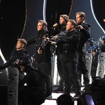 Take That were named best British group at the 2011 Brit Awards