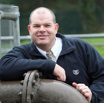 Jon Langford is the last in a line of 17 family members to have worked for London's water supplier