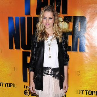 Teresa Palmer stars in new film I Am Number Four