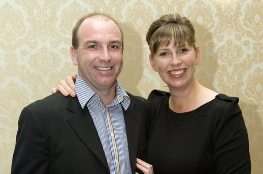 DJ Carey and partner Sarah Newman who nominated a liquidator to wind down their contract cleaning business yesterday. Photo: PAUL SHERWOOD