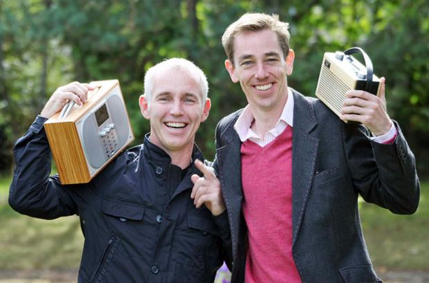 Ray D'Arcy and Ryan Tubridy. Photo: Collins