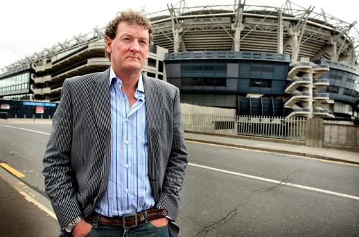 TEEN AFFAIR: Aussie Rules scout Ricky Nixon pictured outside Croke Park on a recent visit. Photo: Steve Humphreys