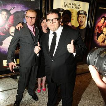 Simon Pegg and Nick Frost play sci-fi nerds in new film Paul