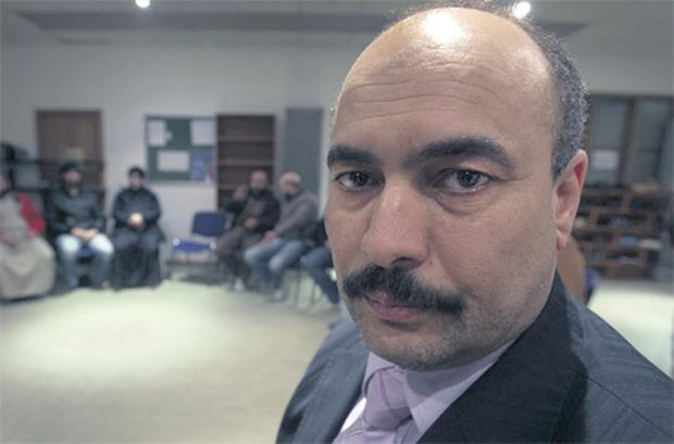 Independent election candidate Hussein Hamed. His younger stepbrother Abdulkareem Hamed has died in Libya