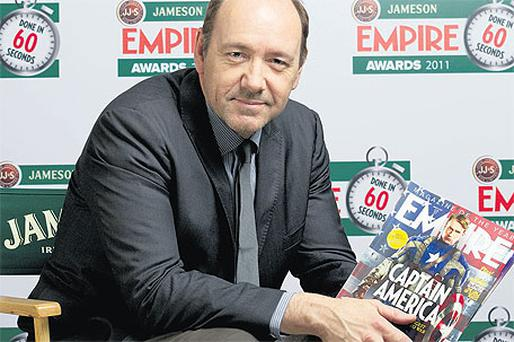 Actor and star of the film Kevin Spacey