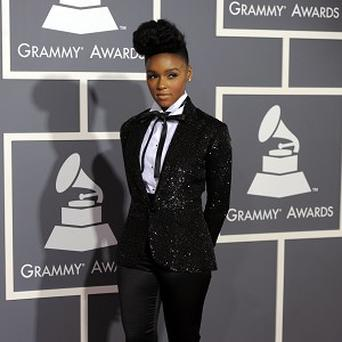 Janelle Monae likes a sharply tailored suit