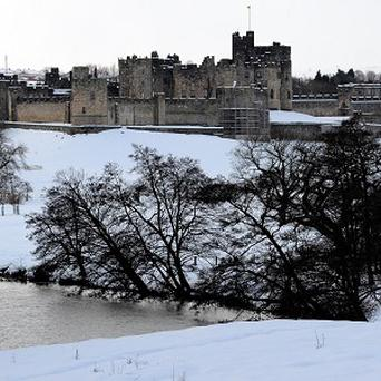 Lady Katie will marry Patrick Valentine before a reception at Alnwick Castle
