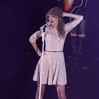 Taylor Swift is delighted her music is a hit in so many different countries