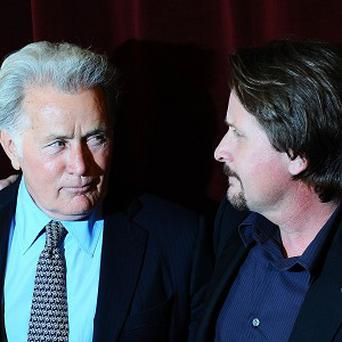 Martin Sheen and Emilio Estevez worked together on the new film The Way