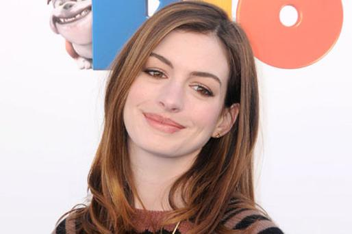 Anne Hathaway has admitted she's nervous about co-hosting the Oscars. Photo: Getty Images