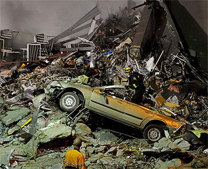 Rescue workers continue to search for survivors in the rubble in Christchurch. Photo: Reuters
