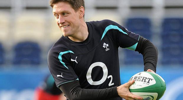 Ronan O'Gara is back in the No.10 jersey for Ireland - it's up to Jonathan Sexton to see if he can take it back.
