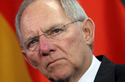 German finance minister Wolfgang Schaeuble said last summer that the 'oligopoly' of the main rating firms should be broken. Photo: Getty Images