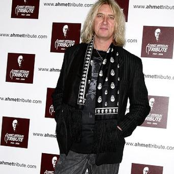 Joe Elliot from Def Leppard, which will be headlining the Download Festival