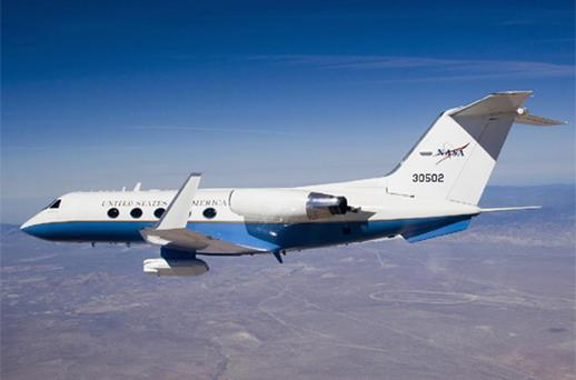 A 13-seater Gulfstream G3 similar to the one purchased by Padraig Harrington