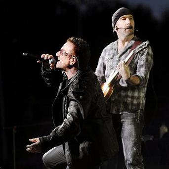 U2 were forced to pull out of last year's music festival