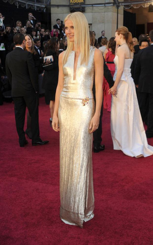 HOLLYWOOD, CA - FEBRUARY 27: Actress Gwyneth Paltrow arrives at the 83rd Annual Academy Awards held at the Kodak Theatre on February 27, 2011 in Hollywood, California. (Photo by Frazer Harrison/Getty Images)