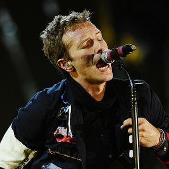 Coldplay are headlining T In The Park