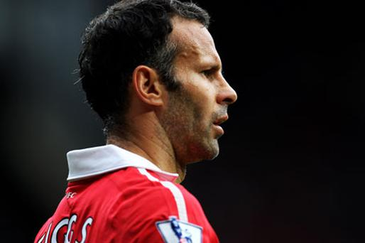 Manchester United veteran Ryan Giggs has admittted he is driven on by defeats rather than victories. Photo: Getty Images