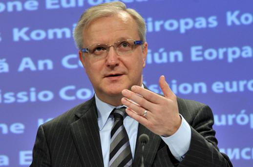 Economic and Monetary Affairs Commissioner Olli Rehn. Photo: Getty Images