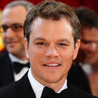 Matt Damon stars in Adjustment Bureau with Emily Blunt