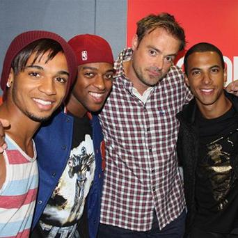 Jamie Theakston is teaming up with JLS for charity