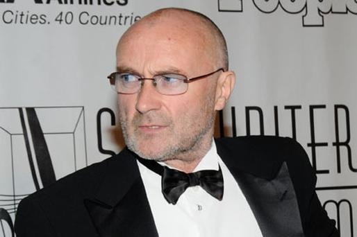 Aside from his ailing health, Phil Collins claims listeners have grown 'sick' of him. Photo: Getty Images