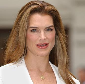 Brooke Shields injured herself with a bowling ball
