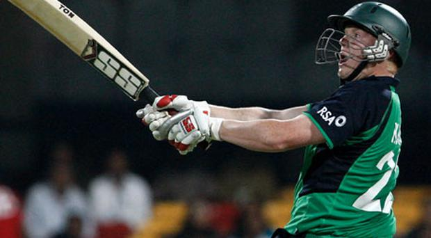The IPL thrives on just the sort of big hitting that O'Brien showcased in Bangalore on Wednesday. Photo: Getty Images