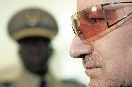 Bono has said that corruption in the developing world is a bigger killer than