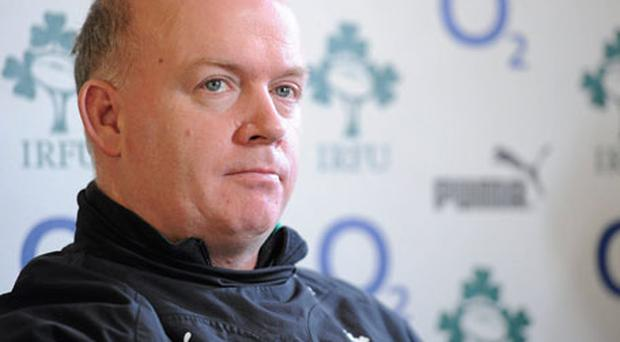 Declan Kidney insists he is not worried by 'player power' in Irish squad