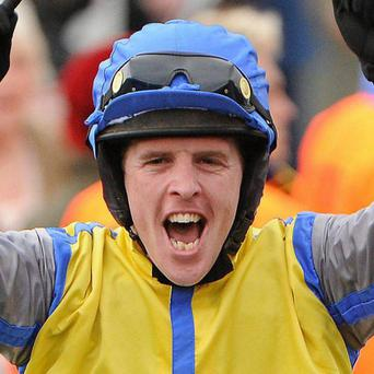 Delighted: Jason Maguire