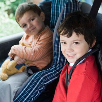 The law now states that all children should be securely restrained when travelling in cars. Photo: Thinkstockphotos.com