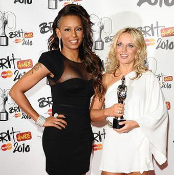 Geri Halliwell and Melanie Brown have different opinions about releasing new Spice Girls' material, say reports
