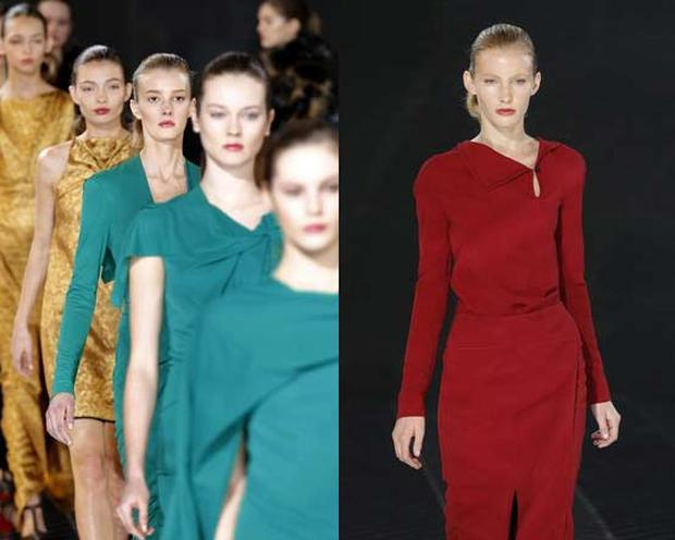 Creations from the new Roland Mouret collection. Photo: Getty Images