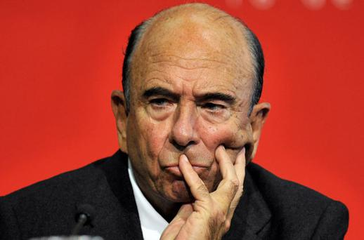 CHAIRMAN: Emilio Botin. Photo: Reuters