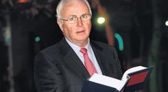 DEFENDER: Nama chairman Frank Daly, pictured at The National Asset Management Agency Act 2009 book launch last Wednesday, claims the agency is fulfilling its remit. Photo: Tony Gavin