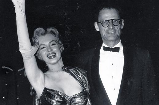CELEBRITY HUSBAND: The press labelled Arthur Miller as the man who slept with Marilyn Monroe. At 80, he swung a punch at a reporter who asked if he still dreamt of the actress