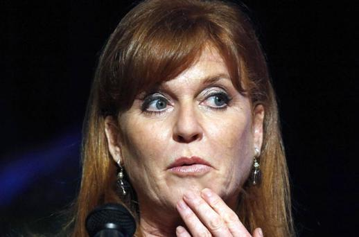 Sarah Ferguson: Duke of York appealed for help to pay her debts. Photo: AP
