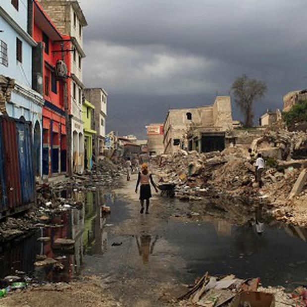 The Haiti earthquake caused devastation on a huge scale in 2010 (AP)