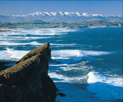 REIGN IN SPAIN: There are fantastic sights all over northern Spain, from the natural, such as the Picos de Europa