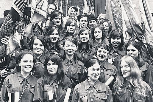 Dublin guides pictured in 1971