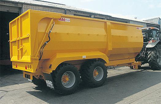 McCauley Trailers' half-pipe trailer takes a lot of features from what manufacturers offer in continental Europe