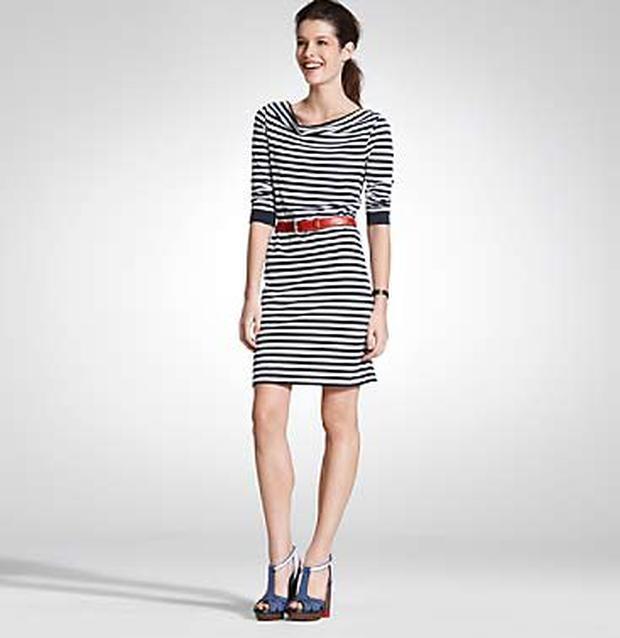 Striped t-shirt dress from Tommy Hilfiger